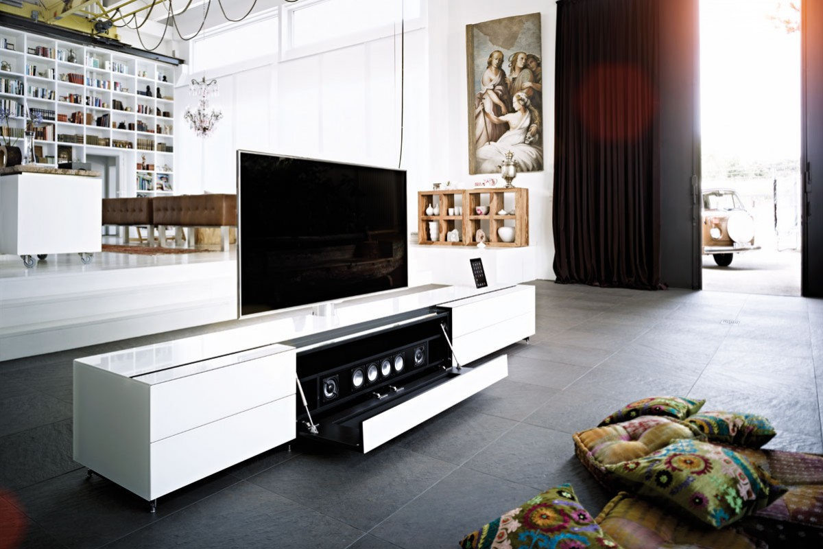 hifi concept living spectral hochwertige hifi tv m bel aus glas und keramik made in germany. Black Bedroom Furniture Sets. Home Design Ideas