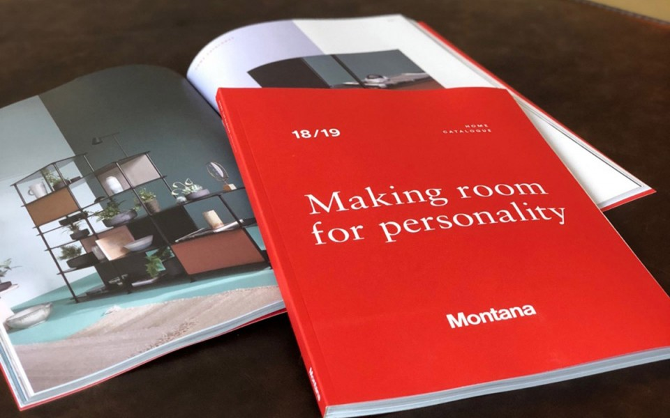 MAKING ROOM FOR PERSONALITY by MONTANA