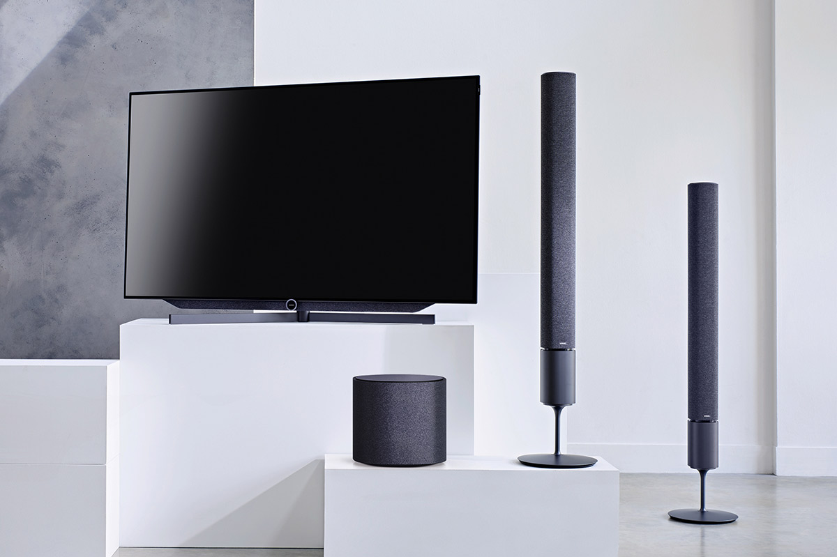 hifi concept living loewe fernseher lautsprecher tv 39 s made in germany. Black Bedroom Furniture Sets. Home Design Ideas
