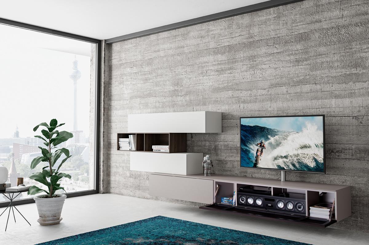hifi concept living spectral hochwertige hifi tv m bel. Black Bedroom Furniture Sets. Home Design Ideas