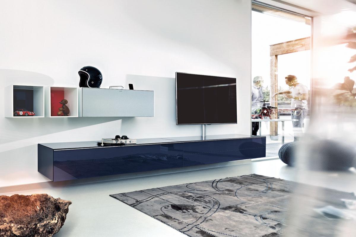 hifi concept living spectral hochwertige hifi tv m bel aus glas und keramik made in germany. Black Bedroom Furniture Sets. Home Design Ideas